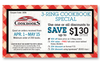 3-Ring Coupon